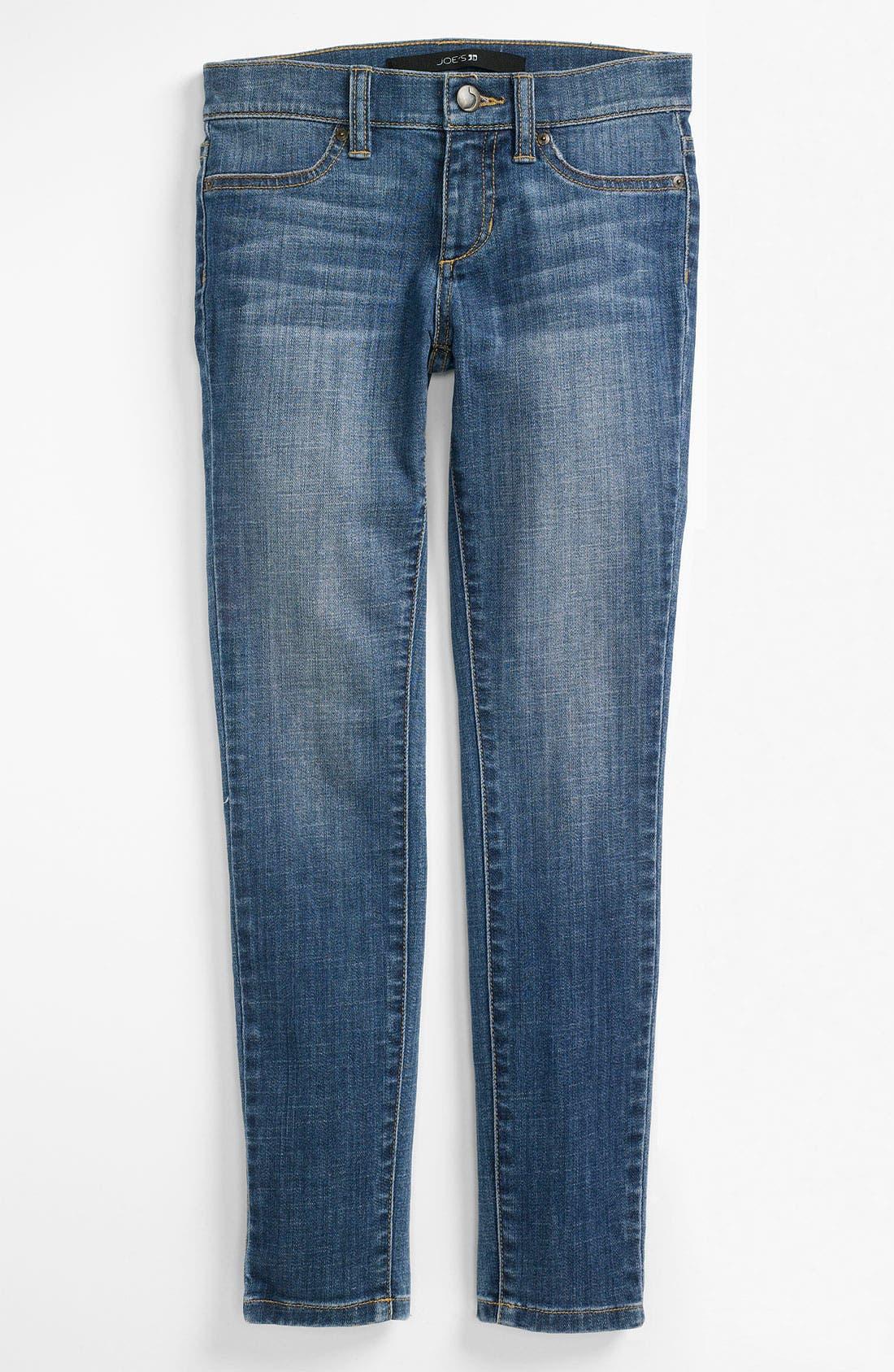 Alternate Image 2  - Joe's Skinny Denim Leggings (Little Girls)