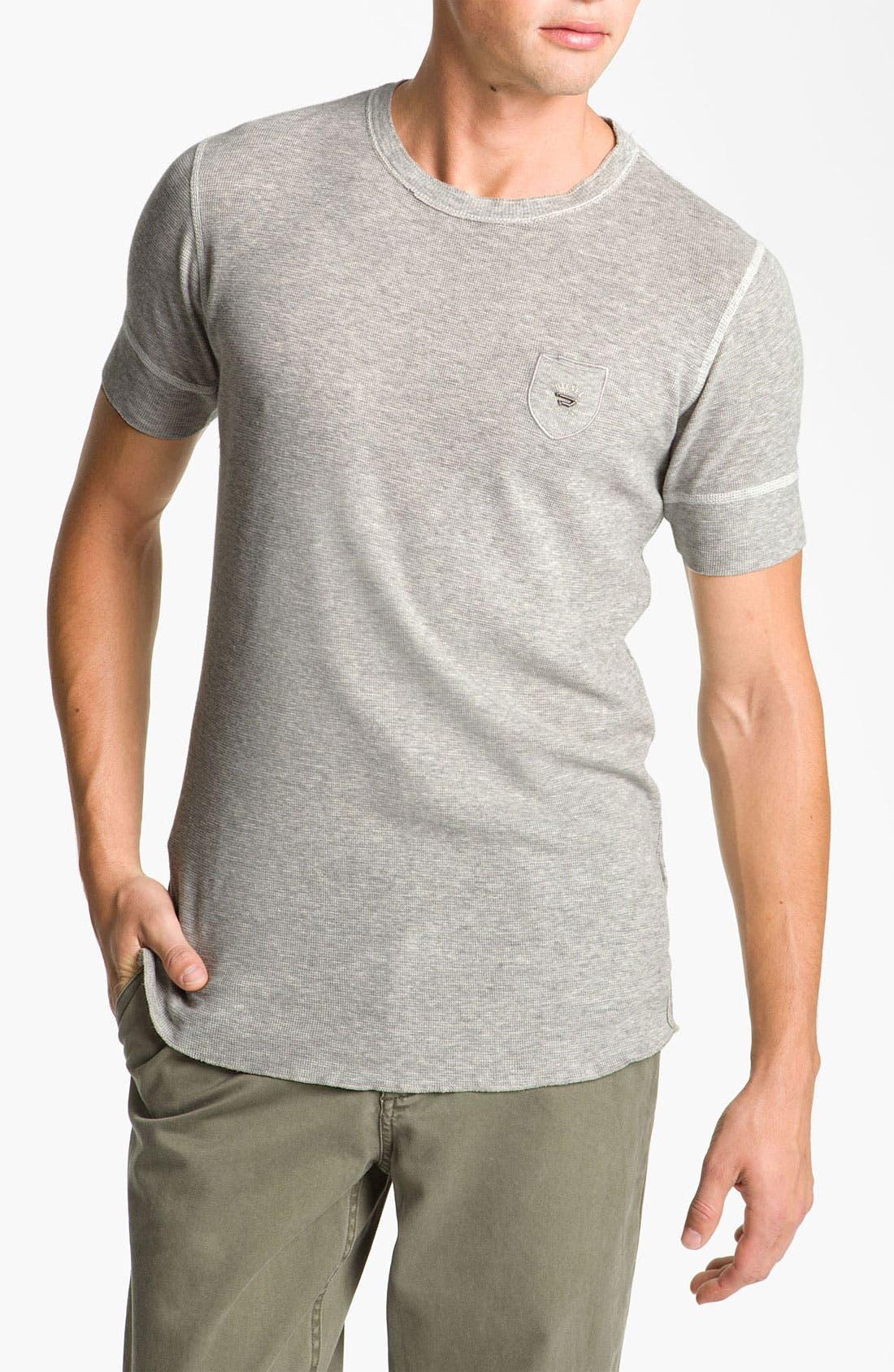 Main Image - DIESEL® Waffle Knit Thermal T-Shirt