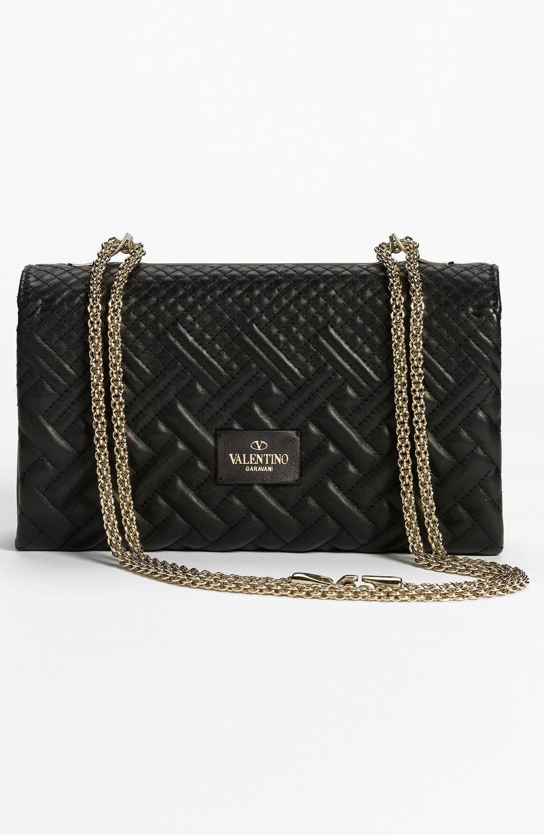 Alternate Image 4  - Valentino 'Girello Flap - Small' Leather Shoulder Bag