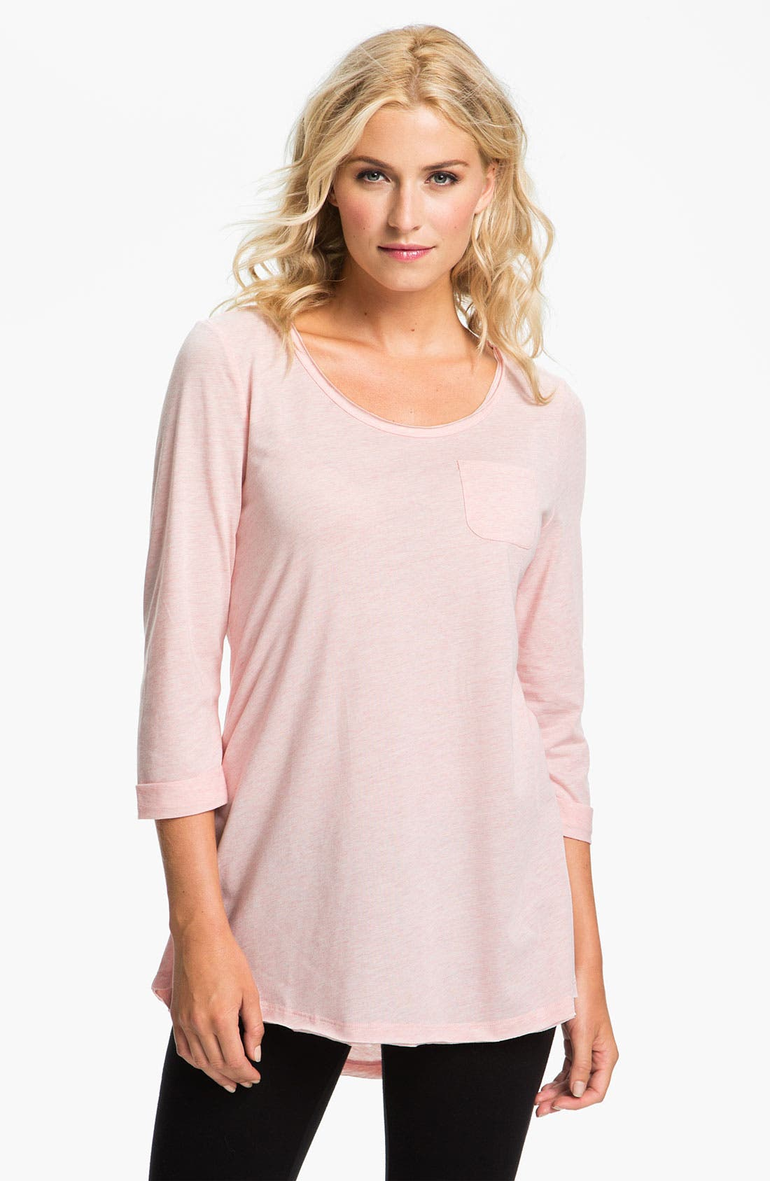 Main Image - Daniel Buchler Heather Knit Lounge Top