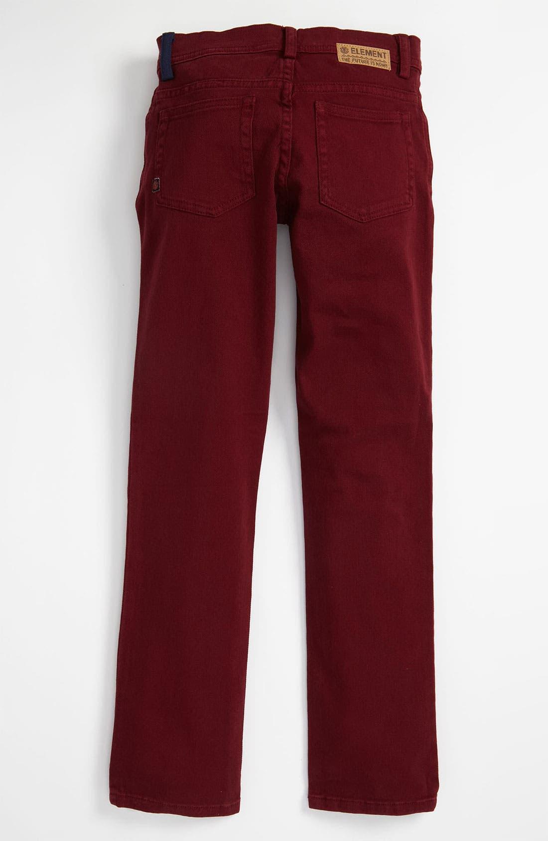 Alternate Image 1 Selected - Element 'Crosstown' Jeans (Big Boys)