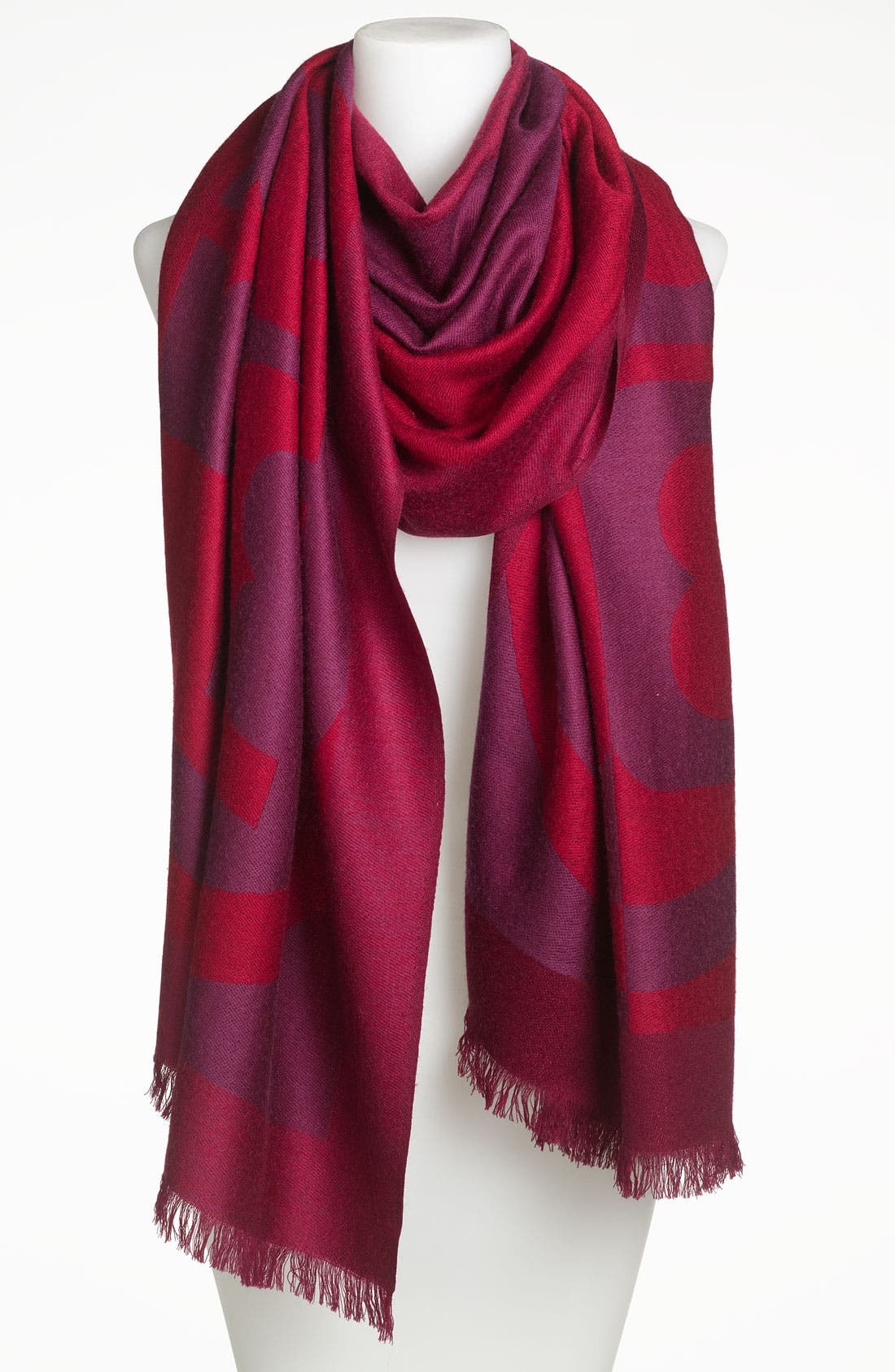 Alternate Image 1 Selected - Tory Burch 'Reva' Jacquard Scarf