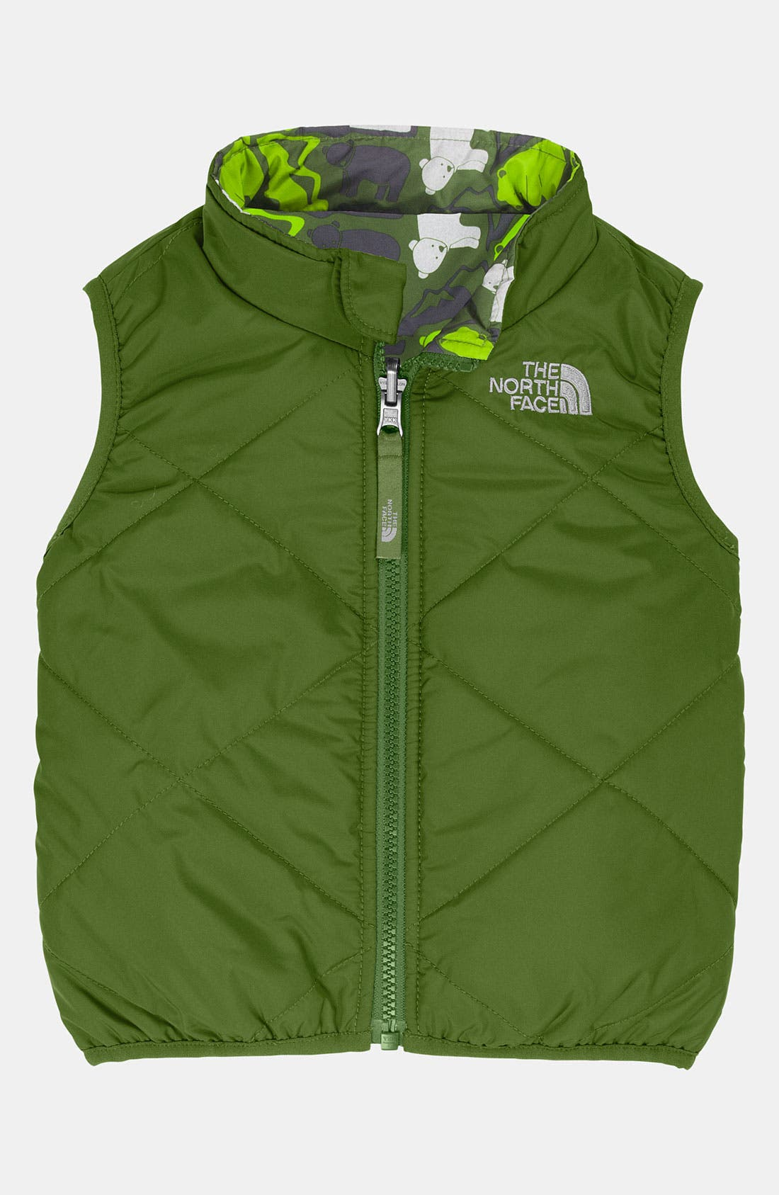 Alternate Image 1 Selected - The North Face 'Perrito' Reversible Vest (Infant)