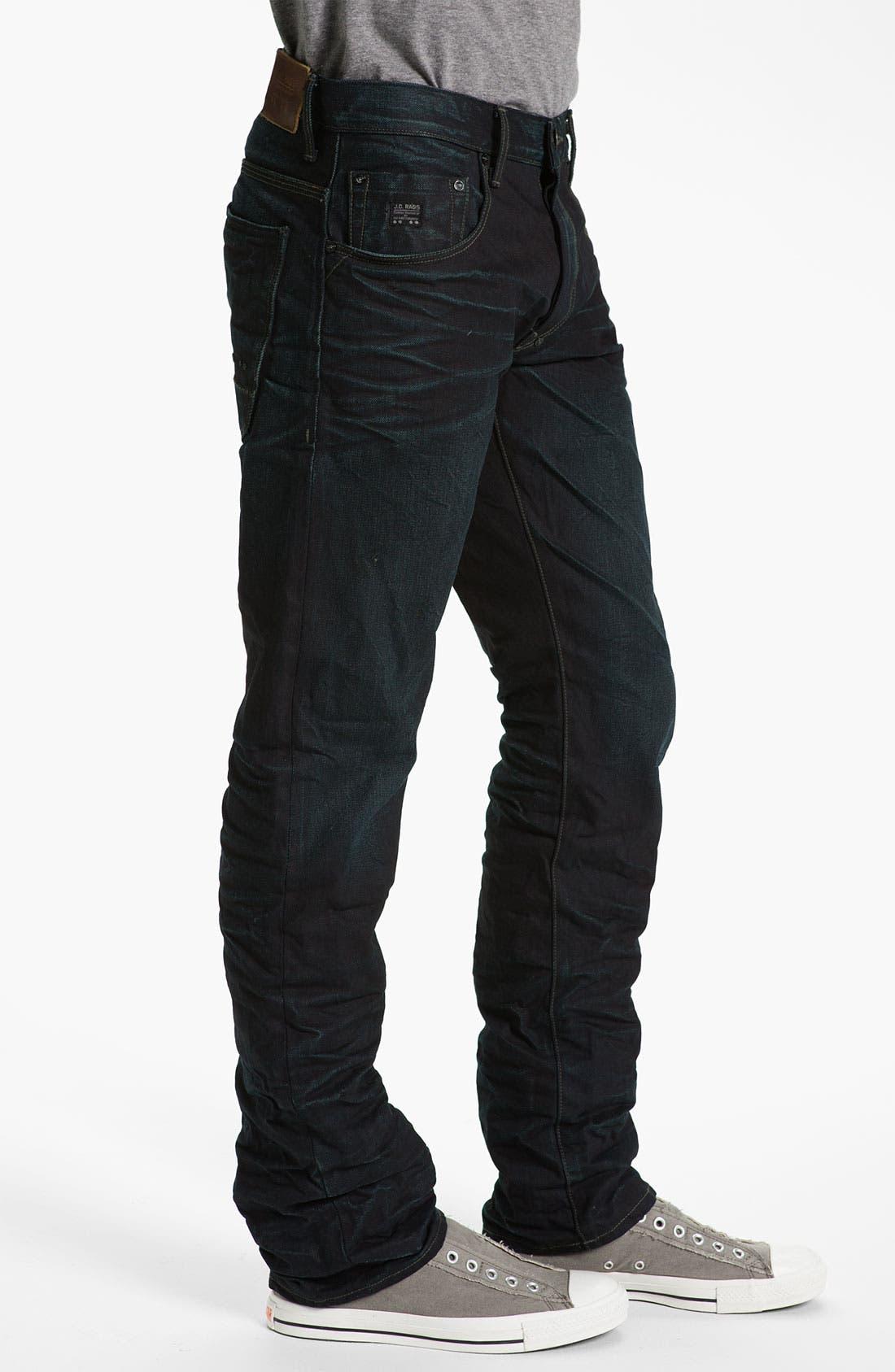 Alternate Image 3  - J.C. Rags 'Alpha' Straight Leg Jeans (Used)