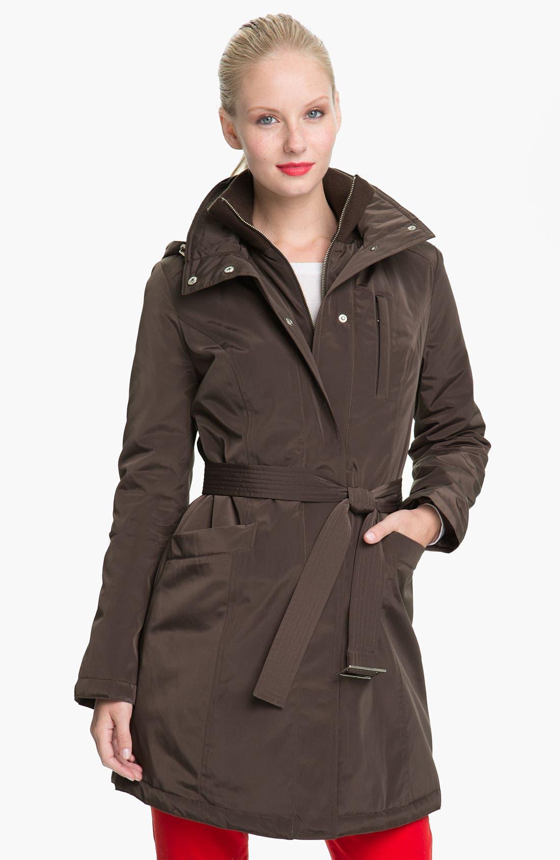 Main Image - MICHAEL Michael Kors Softshell Trench Coat