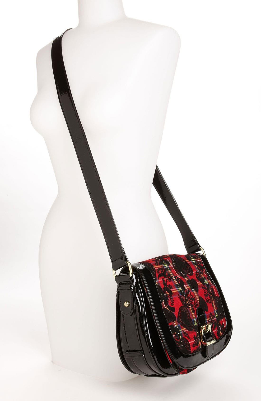 Alternate Image 2  - Betsey Johnson 'School of Hearts' Crossbody Bag