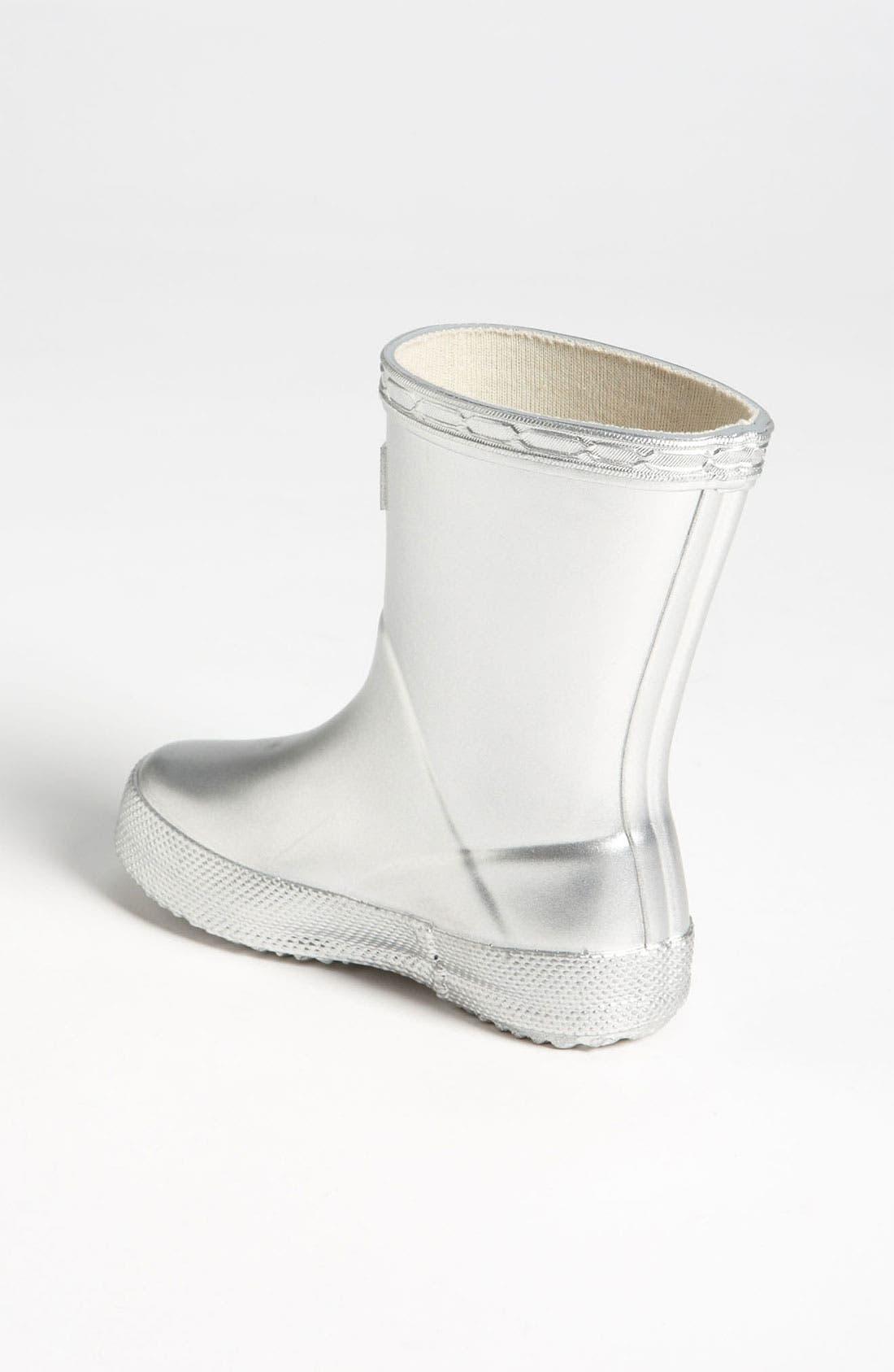 Alternate Image 2  - Hunter 'Kid's First Gloss' Rain Boot (Walker & Toddler)