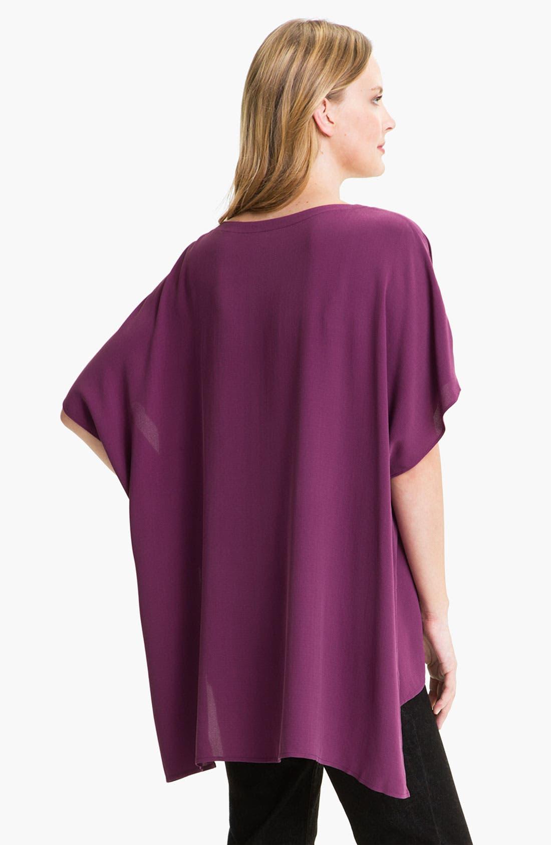 Alternate Image 2  - Eileen Fisher Silk Tunic