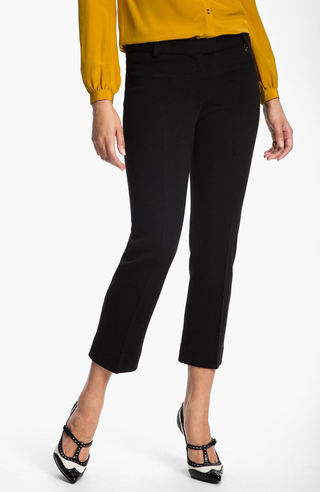 Alternate Image 1 Selected - Tory Burch 'Beverly' Crop Pants