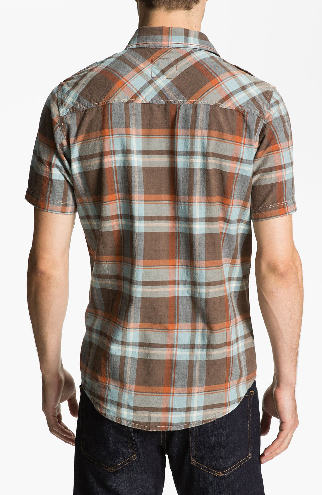 Alternate Image 2  - Jeremiah 'Knoxville' Woven Sport Shirt