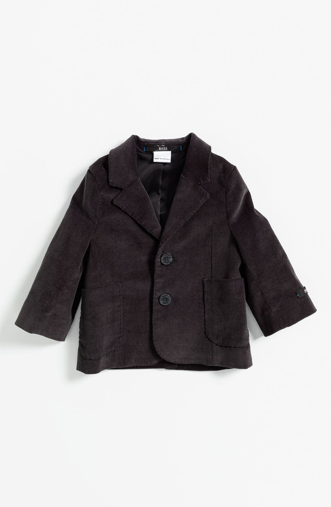 Main Image - BOSS Kidswear Velvet Jacket (Toddler)