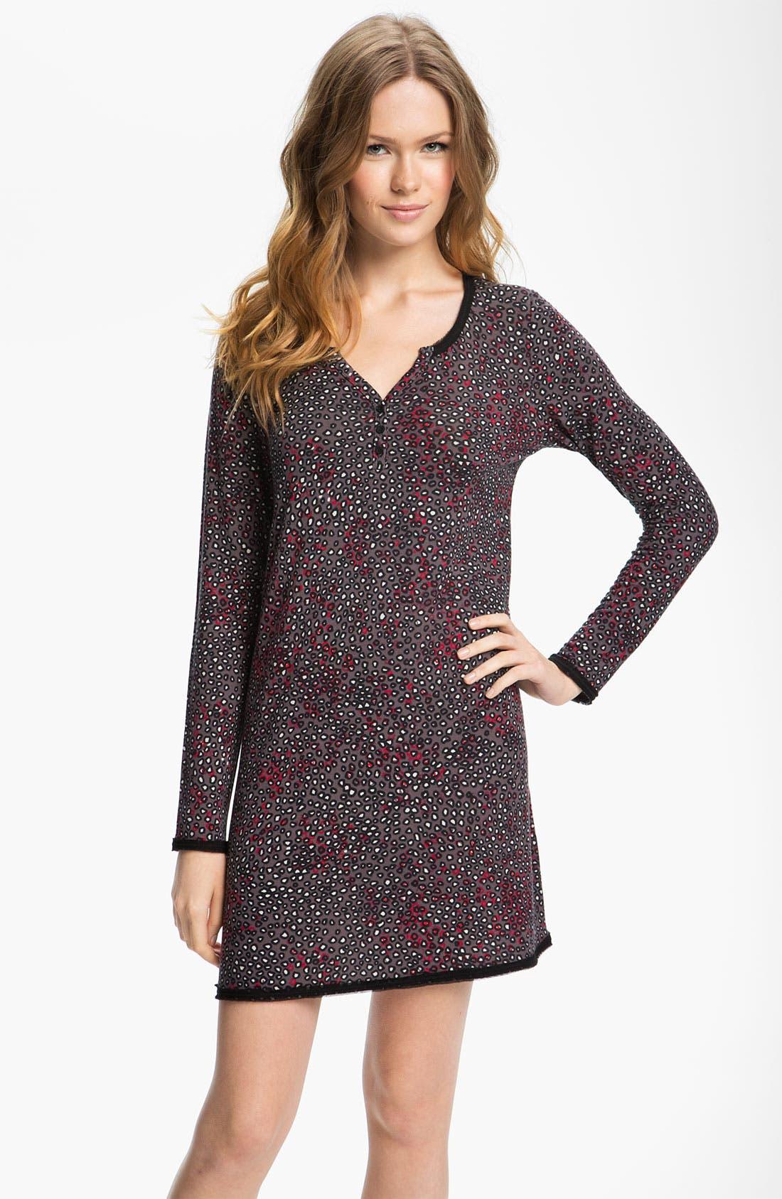 Alternate Image 1 Selected - DKNY 'Sheer Bliss' Sleep Shirt