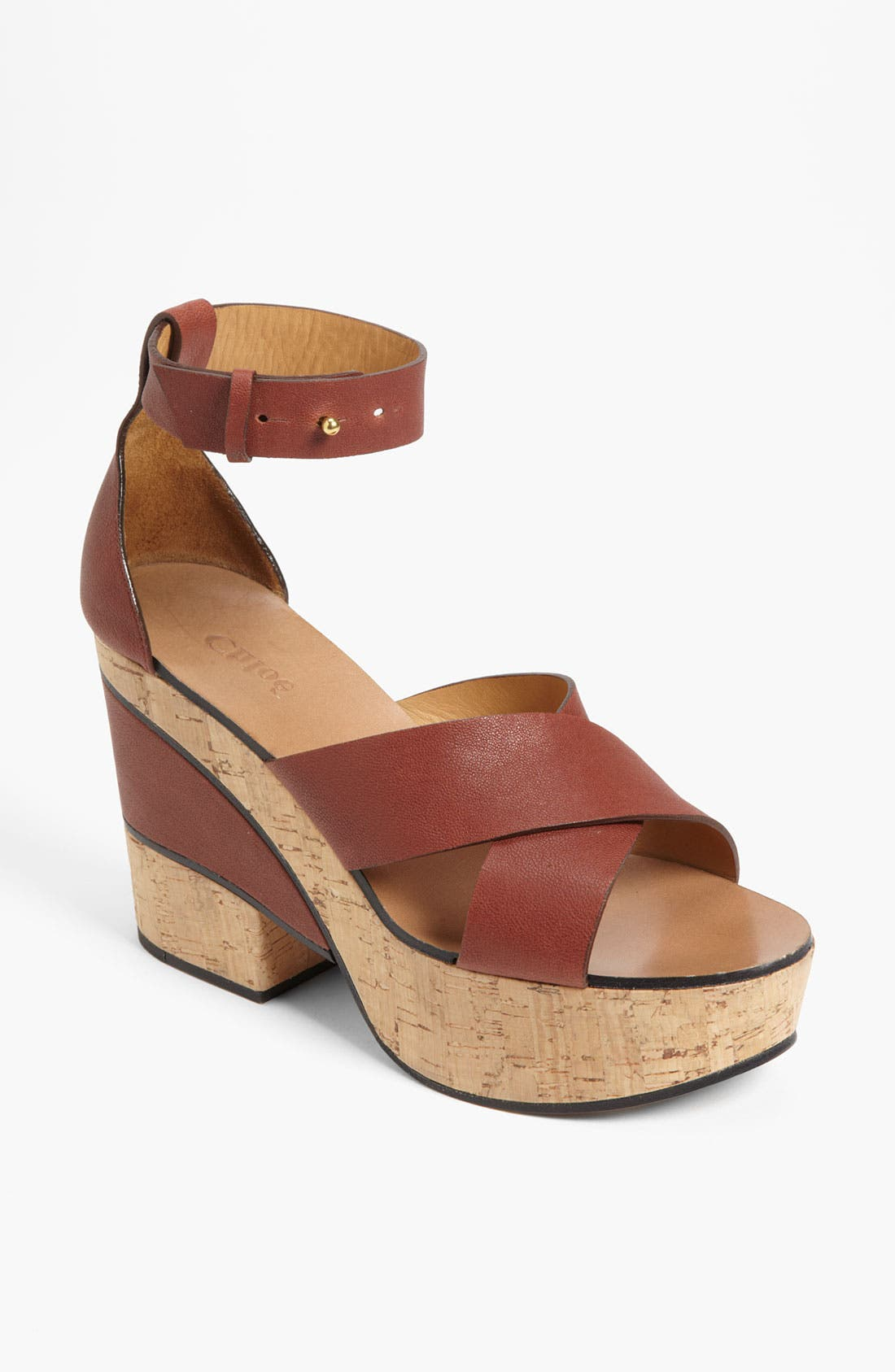 Alternate Image 1 Selected - Chloé Cork Sandal