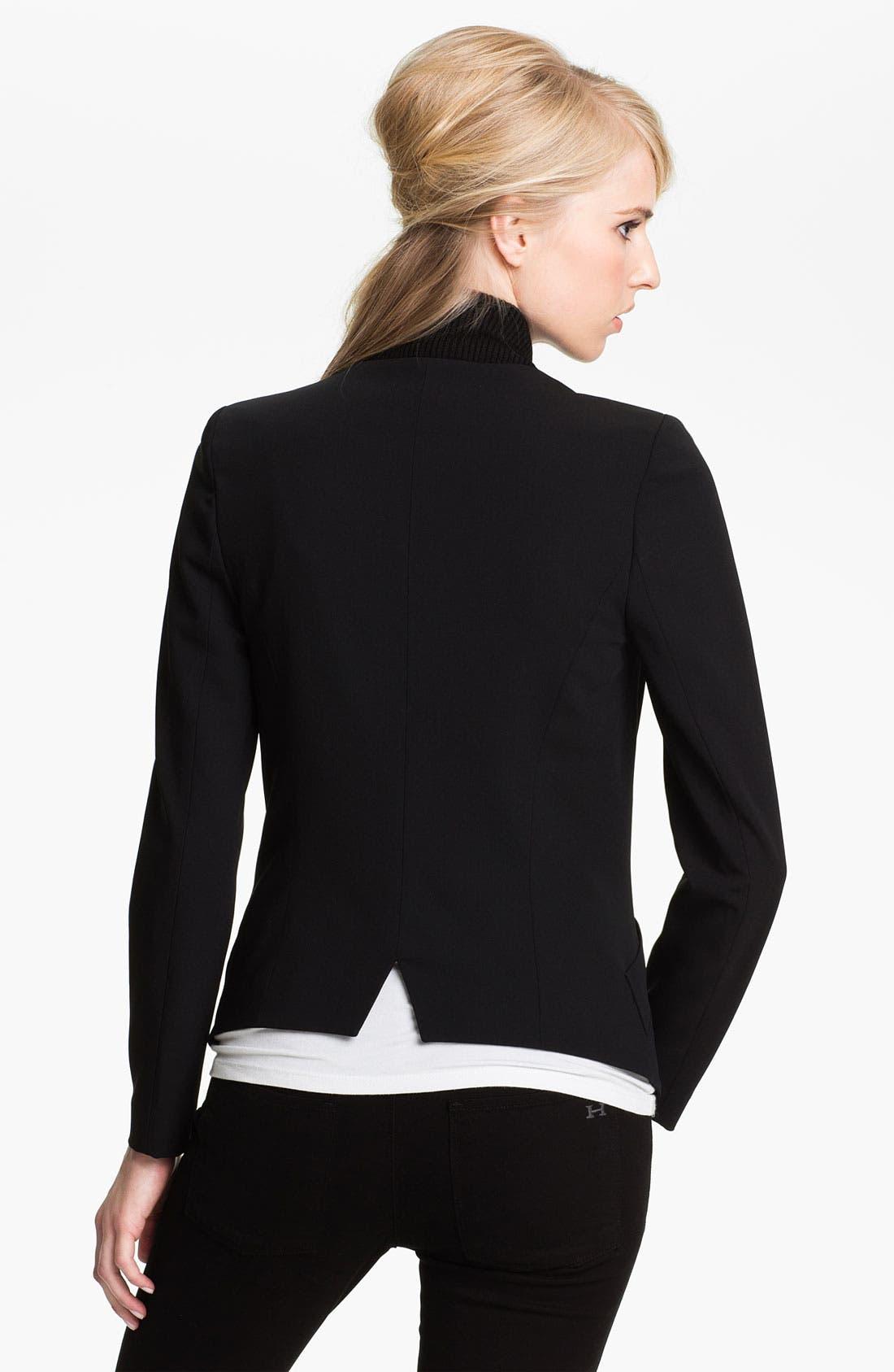 Alternate Image 2  - Twenty8Twelve 'Gilespie' Stretch Wool Jacket