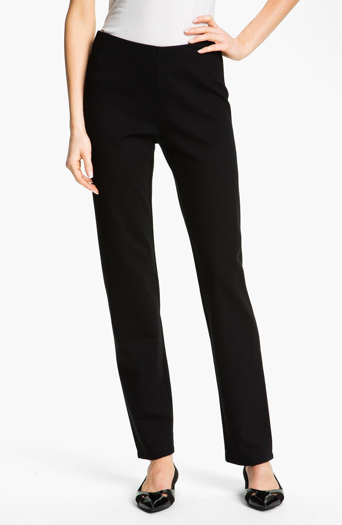 Alternate Image 1 Selected - Eileen Fisher Slim Pants