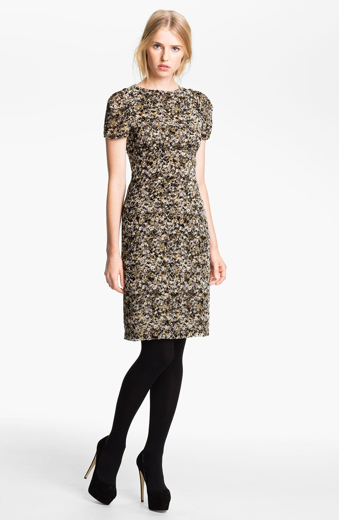 Main Image - L'AGENCE Burnout Dress