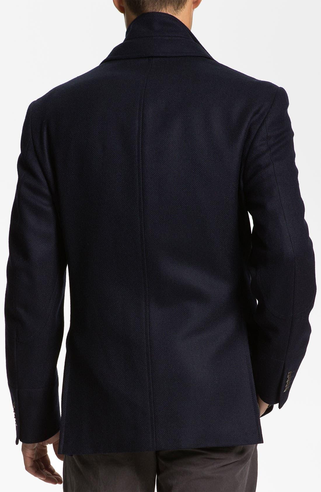 Alternate Image 2  - Kroon 'Ritchie' Wool & Cashmere Blazer Style Coat