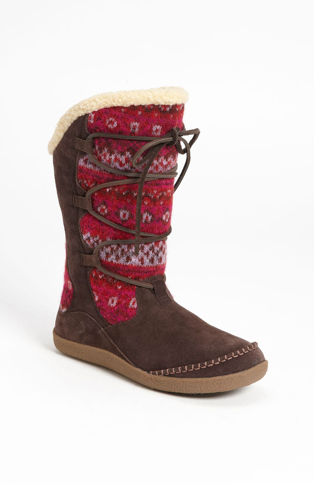 Main Image - Acorn 'Crosslander Boot' Slipper