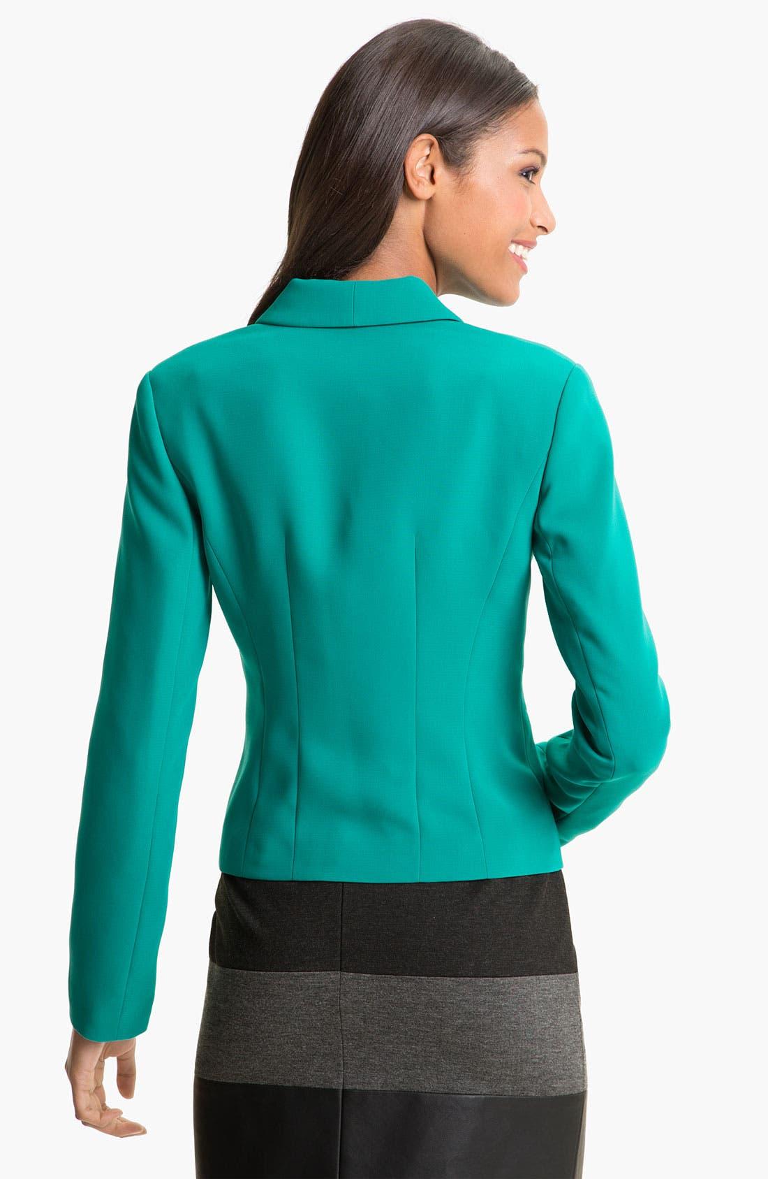 Alternate Image 2  - Halogen® Open Shawl Collar Jacket