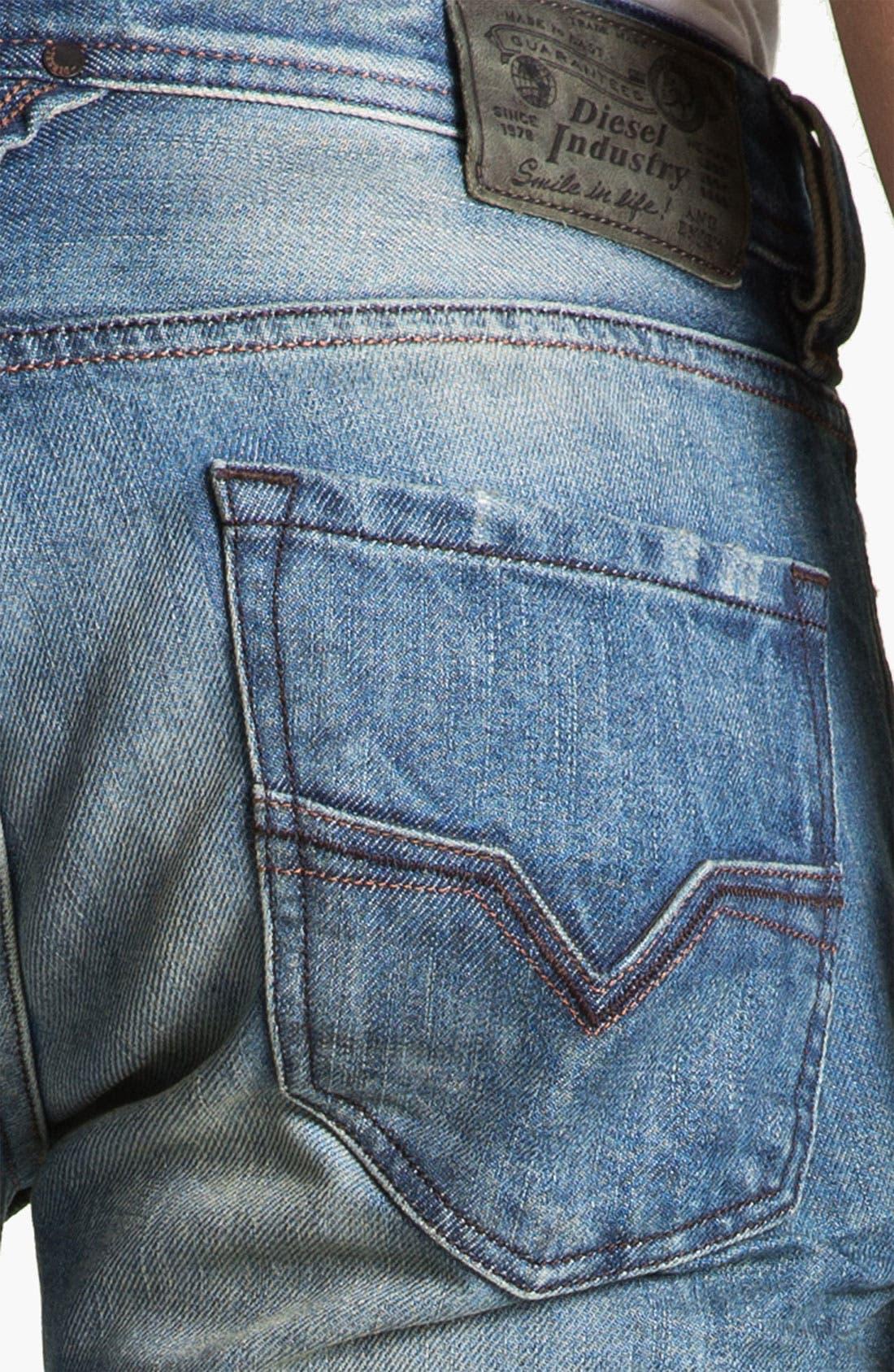 Alternate Image 4  - DIESEL® 'Larkee' Straight Leg Jeans (0075I)