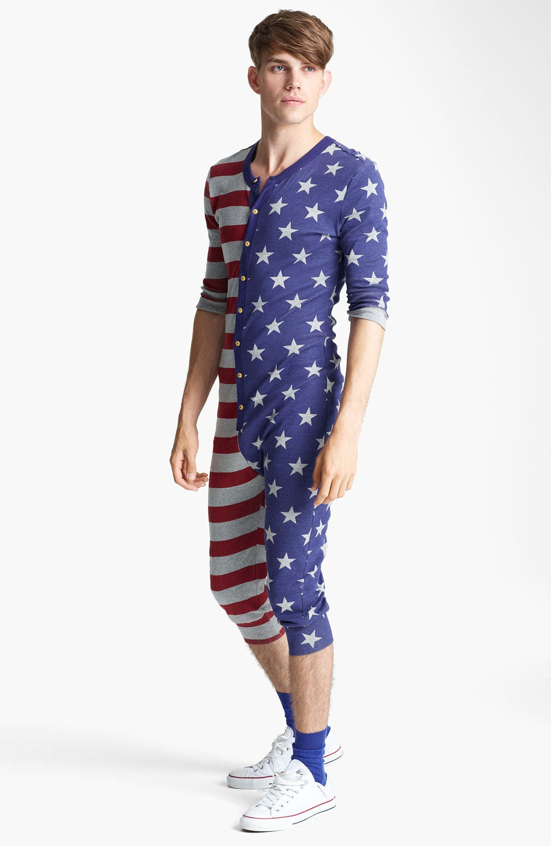 Alternate Image 1 Selected - Topman 'America' Pajamas