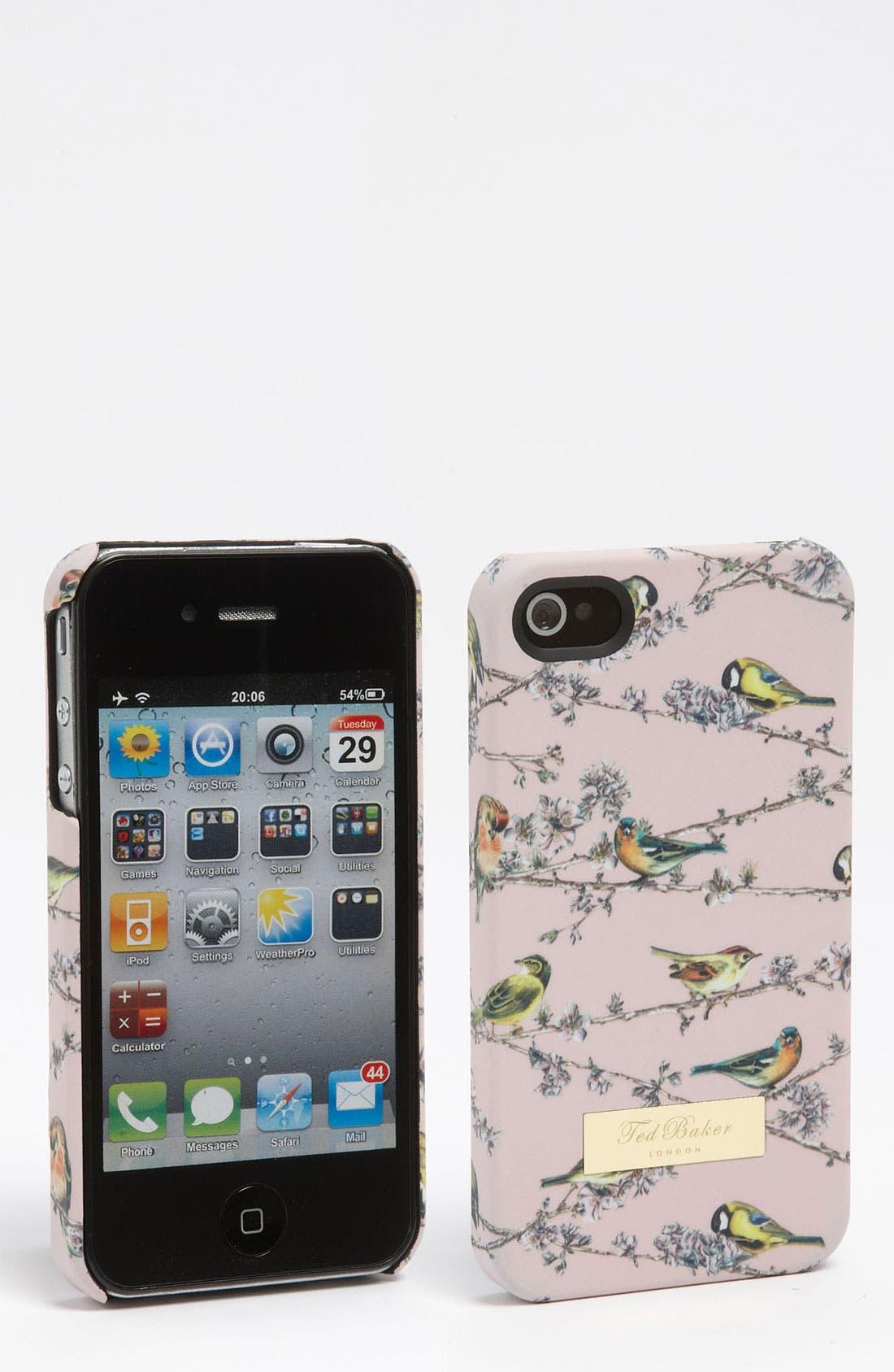 Alternate Image 1 Selected - Ted Baker London 'Birdie Branch' iPhone 4 & 4S Case