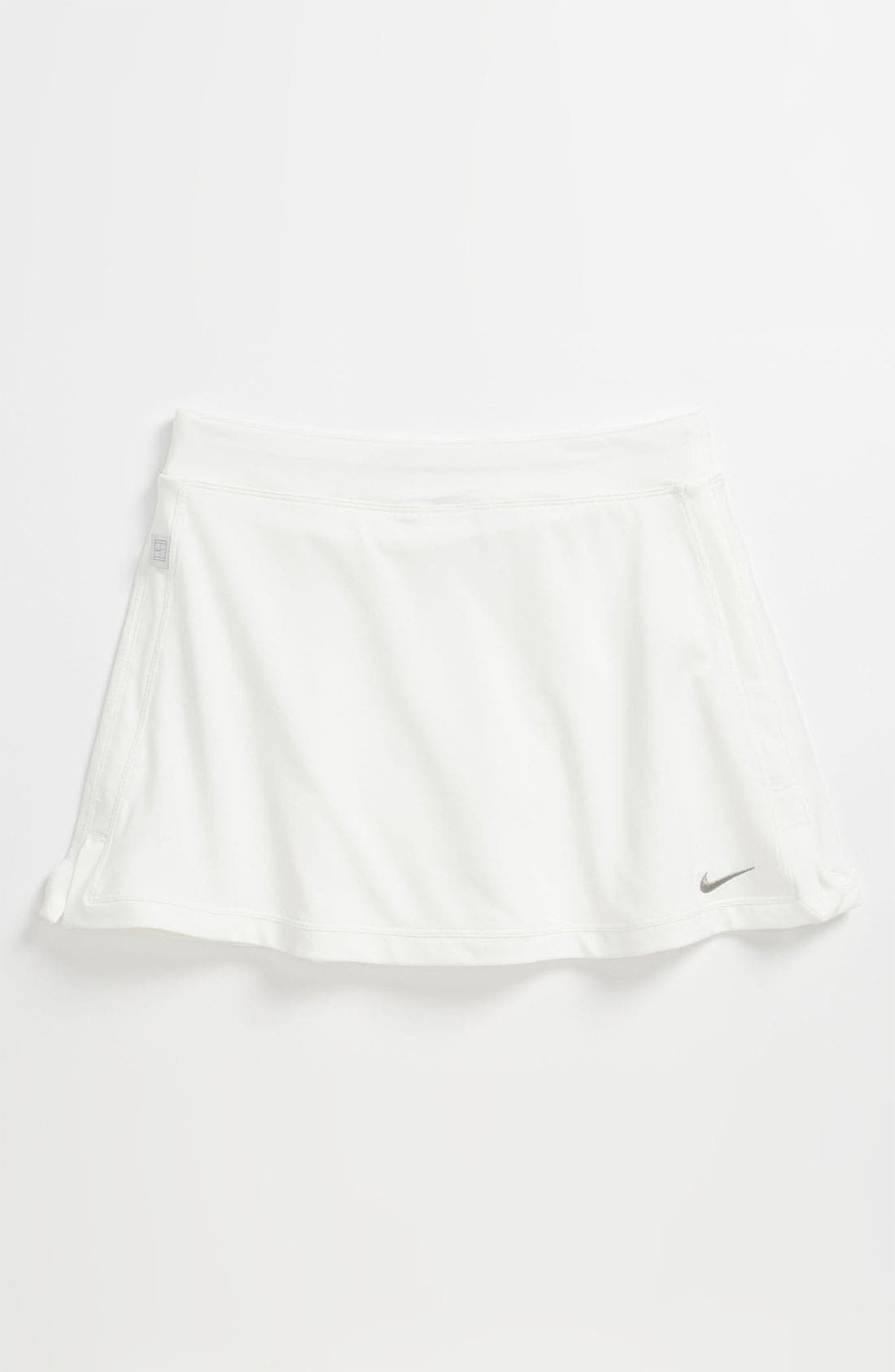 Main Image - Nike 'Border' Tennis Skirt (Big Girls)