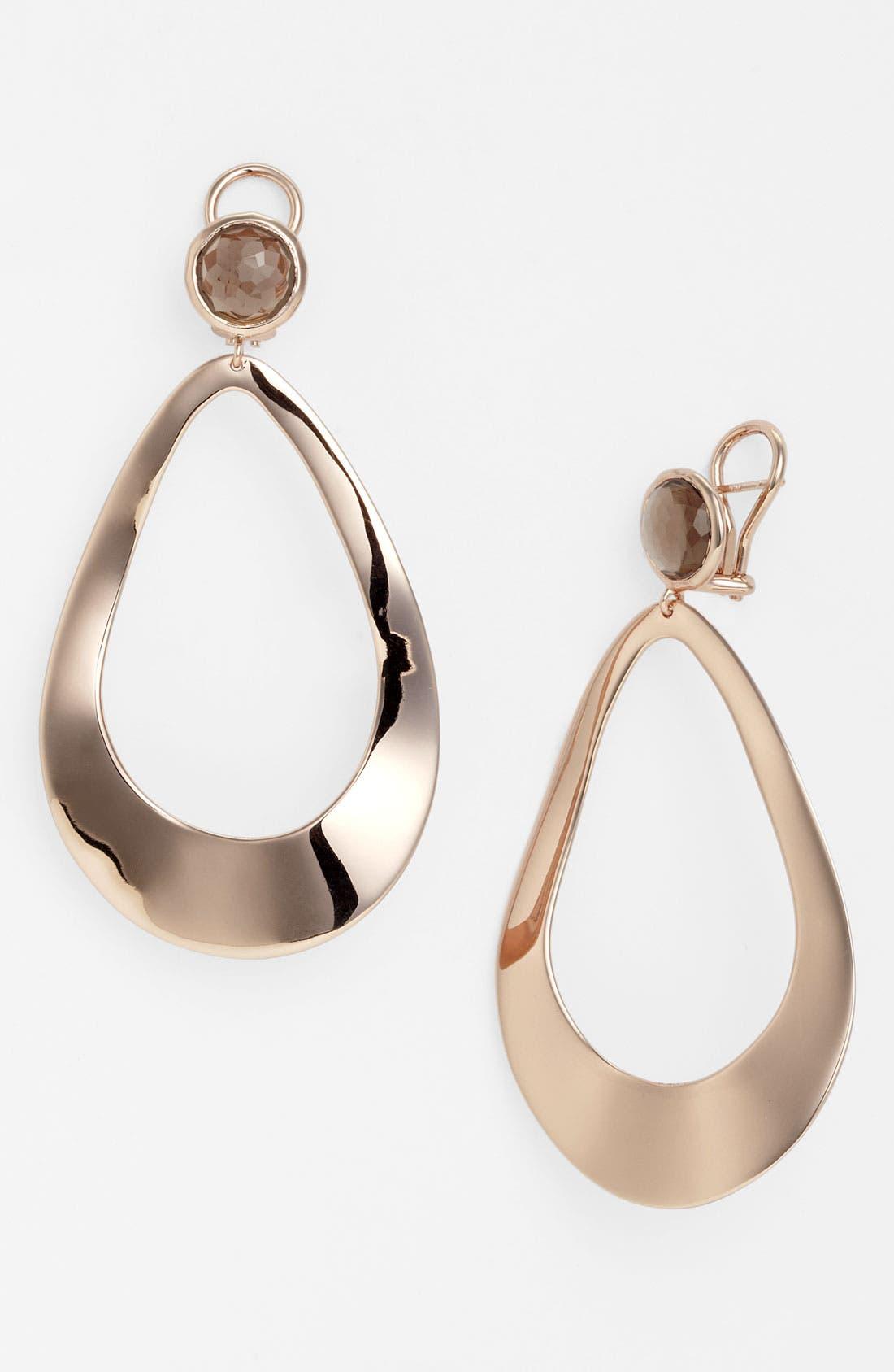 Alternate Image 1 Selected - Ippolita 'Lite Links - Snowman' Open Statement Earrings