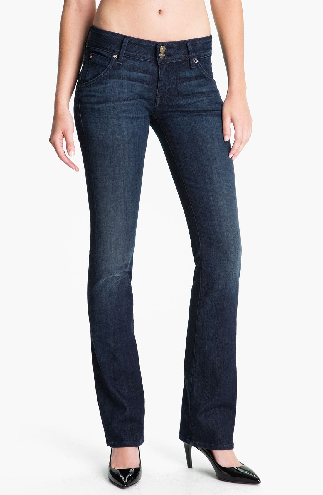Alternate Image 1 Selected - Hudson Jeans 'Beth' Baby Bootcut Jeans (Siouxsie)