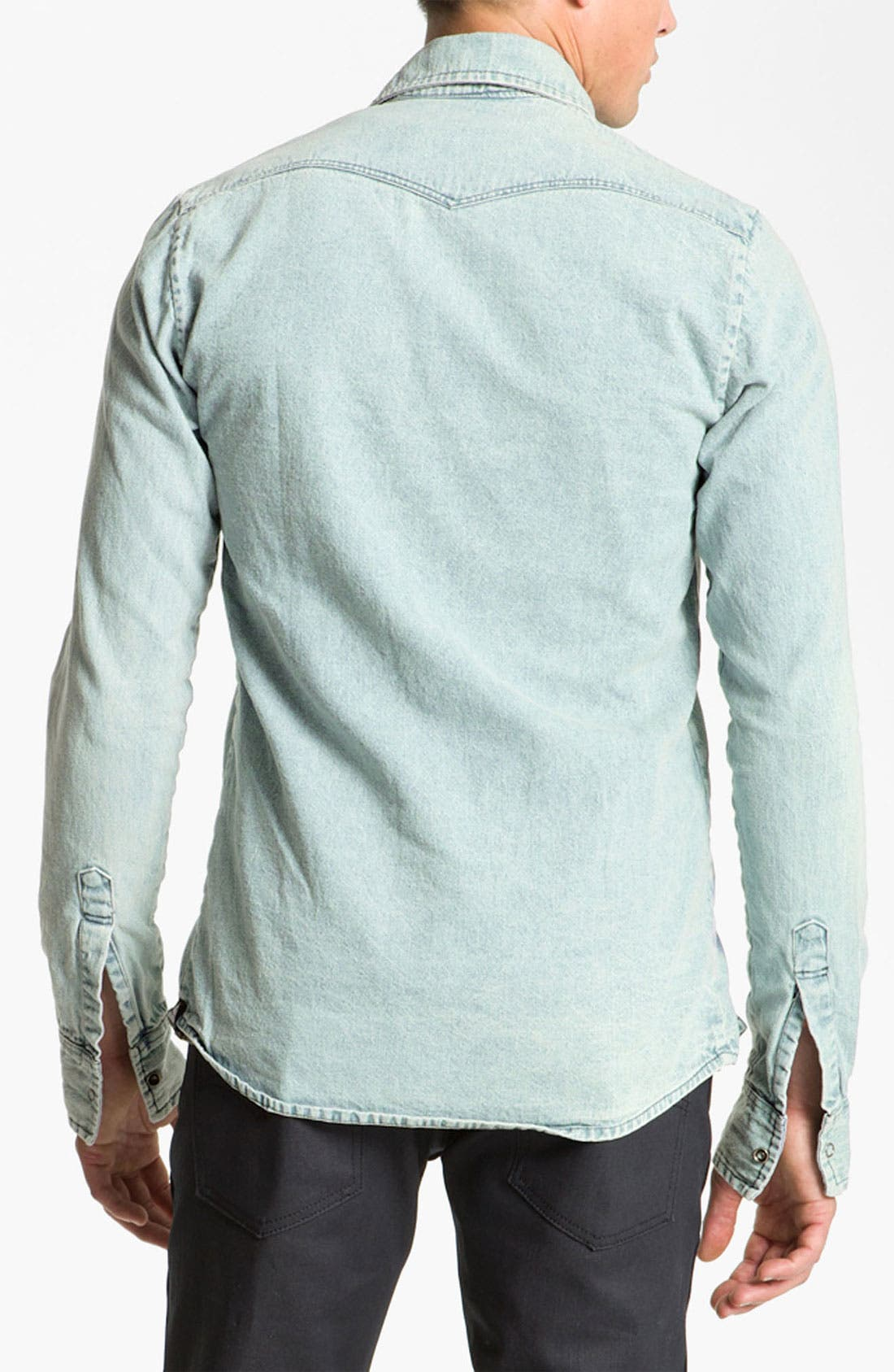Alternate Image 2  - Vanguard Western Denim Shirt