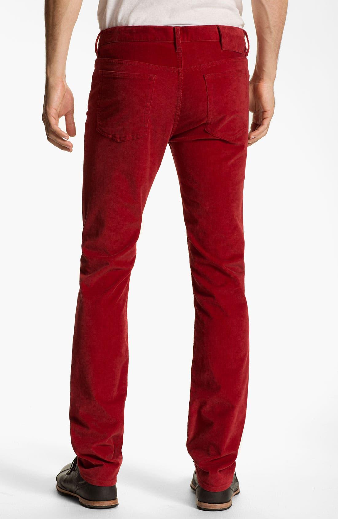 Alternate Image 1 Selected - MARC BY MARC JACOBS Slim Straight Leg Corduroy Pants