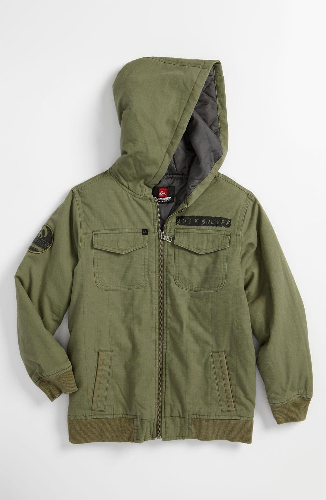 Main Image - Quiksilver 'Shanty' Jacket (Big Boys)