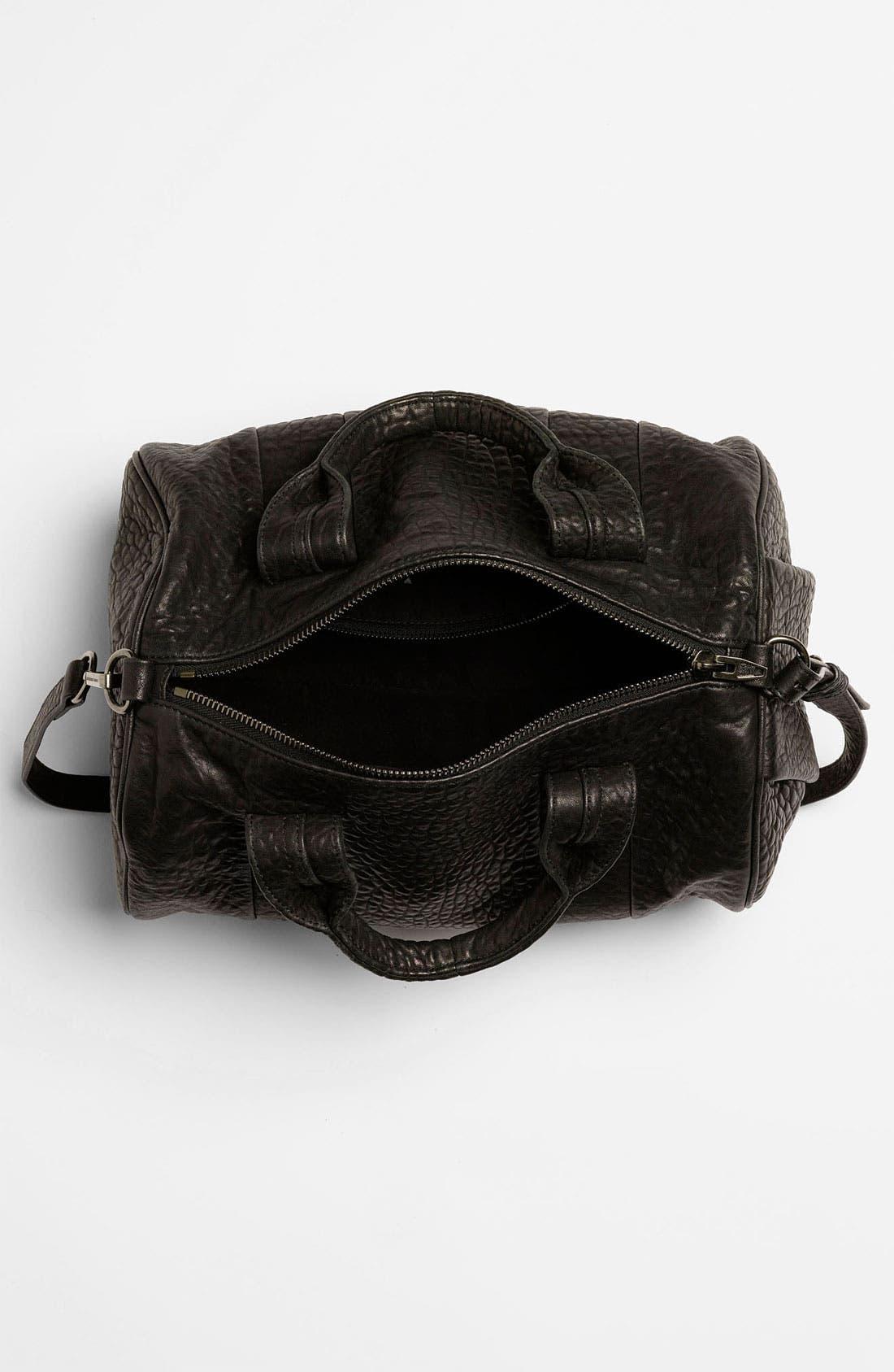 Alternate Image 3  - Alexander Wang 'Rocco - Black Nickel' Leather Satchel
