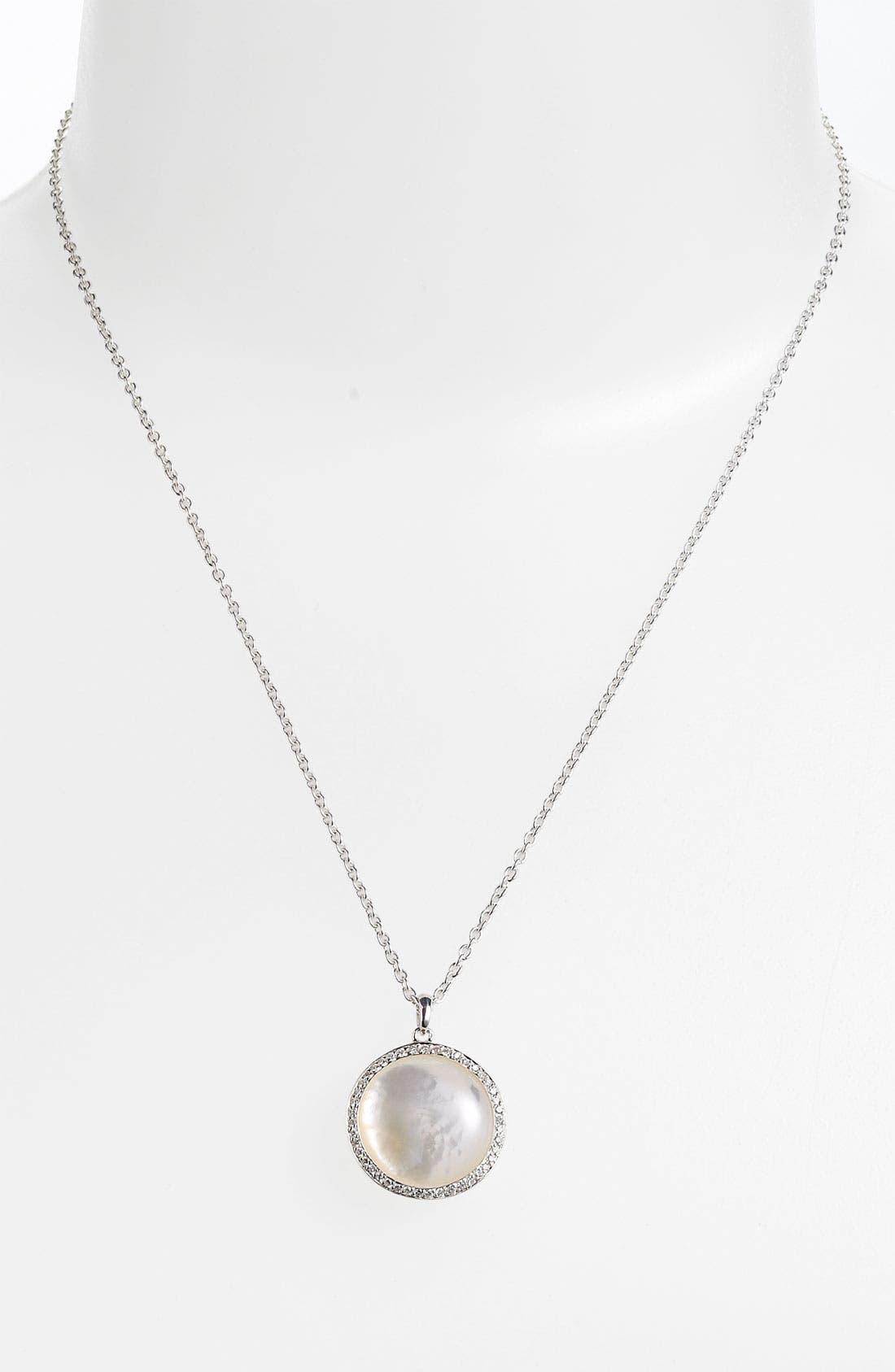 Alternate Image 1 Selected - Ippolita 'Scultura' Medium Circle Pendant Necklace
