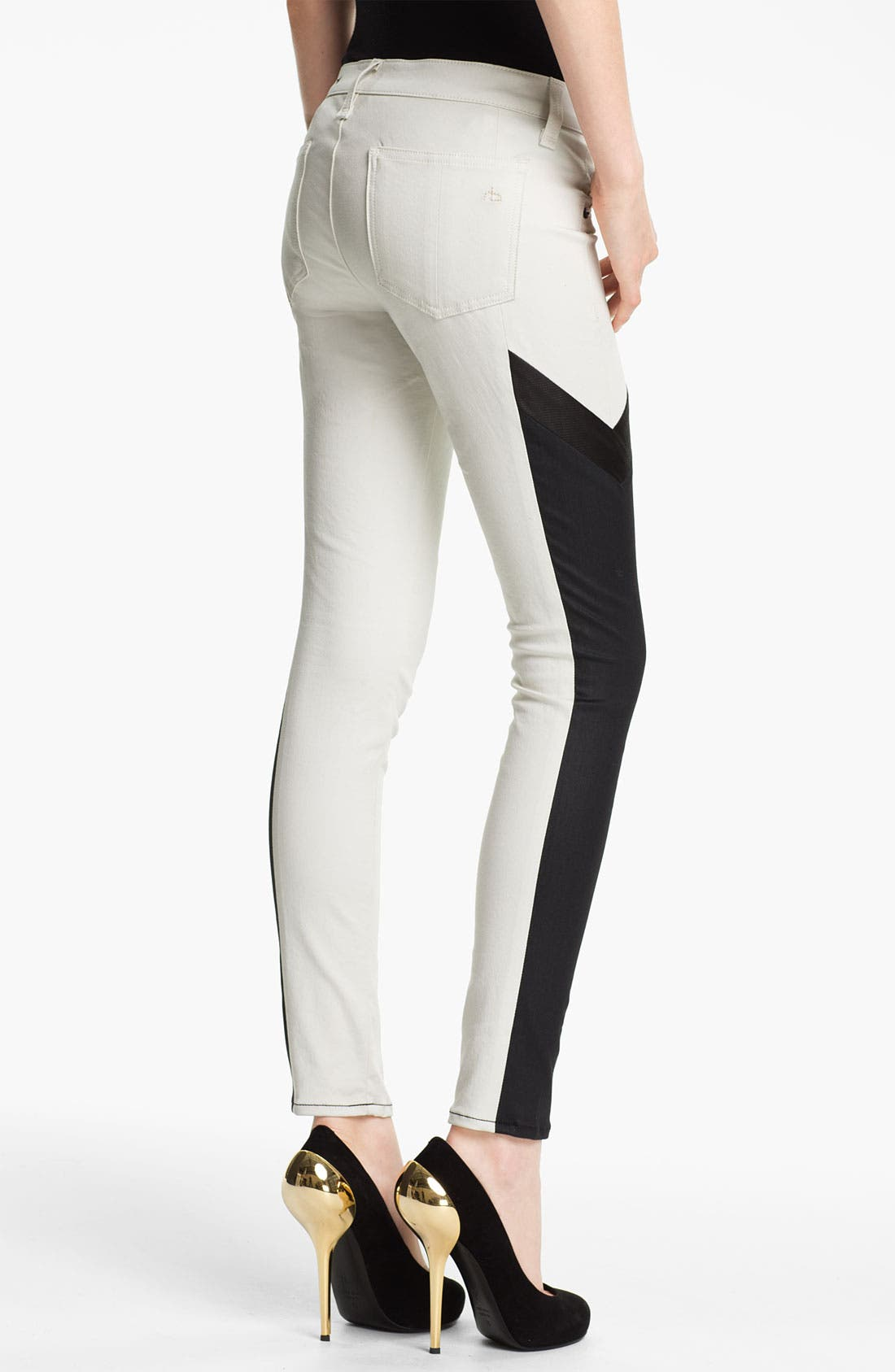 Alternate Image 2  - rag & bone 'Grand Prix Motocross' Paneled Leggings