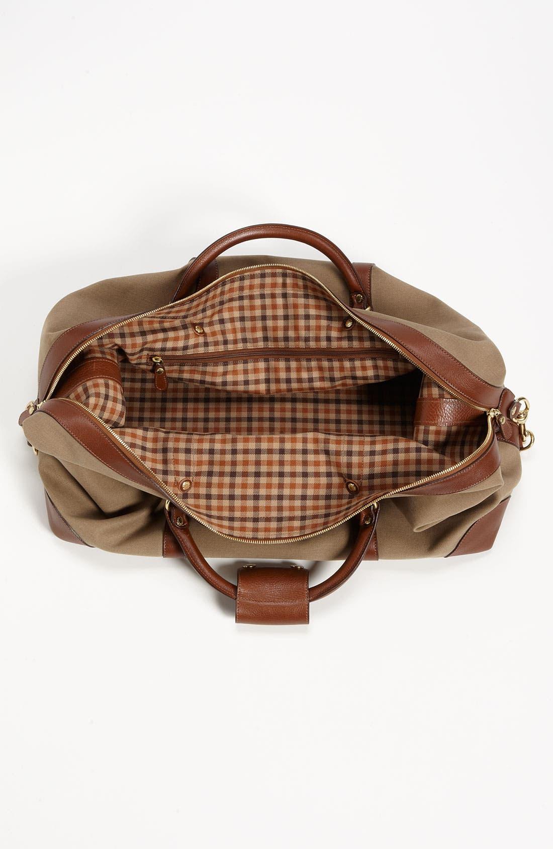Alternate Image 3  - Ghurka 'Cavalier II' Twill Duffel Bag