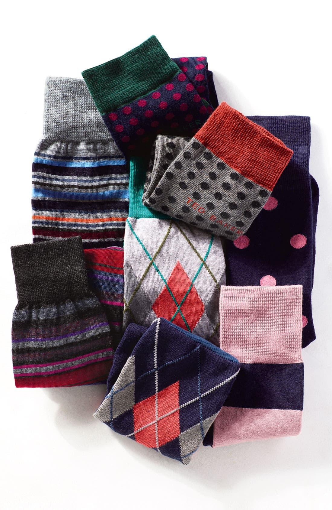 Alternate Image 3  - Ted Baker London 'Dots' Socks
