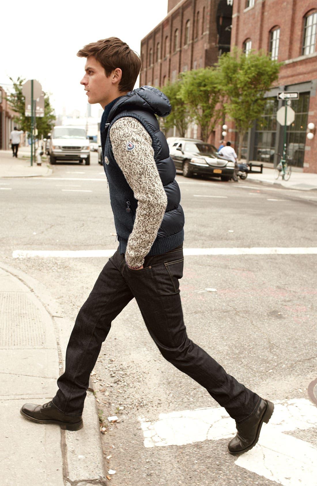 Alternate Image 4  - Moncler Knit & Quilted Hooded Vest