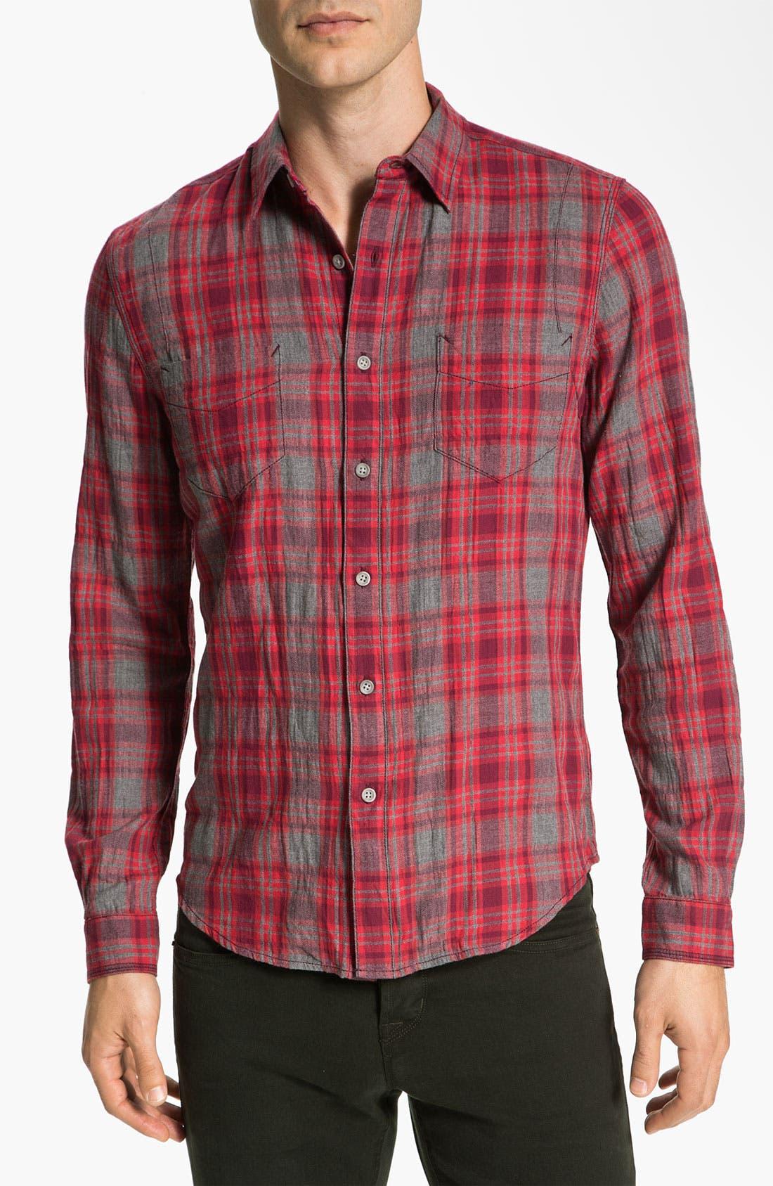 Main Image - life/after/denim 'Spadar' Plaid Woven Shirt
