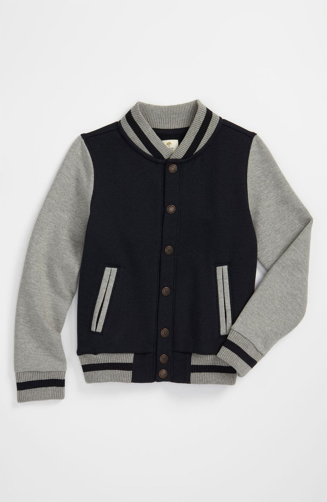 Main Image - Tucker + Tate 'Emmit' Varsity Jacket (Big Boys)