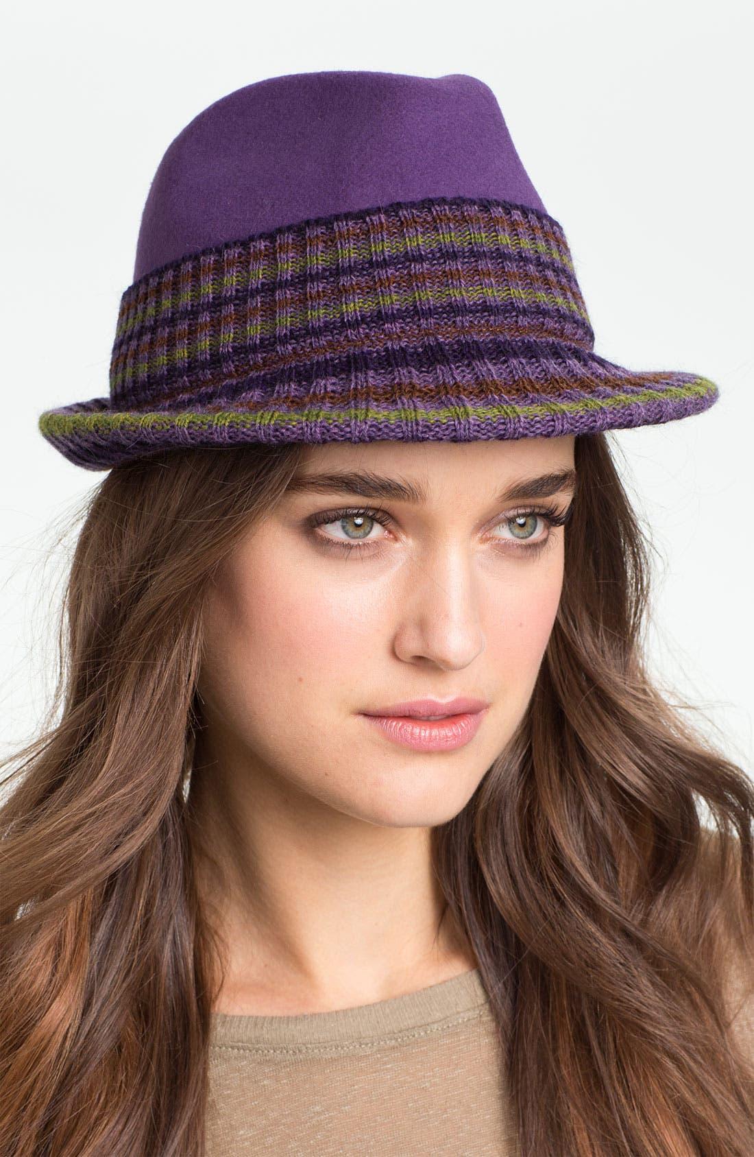 Main Image - Tarnish Wool Fedora