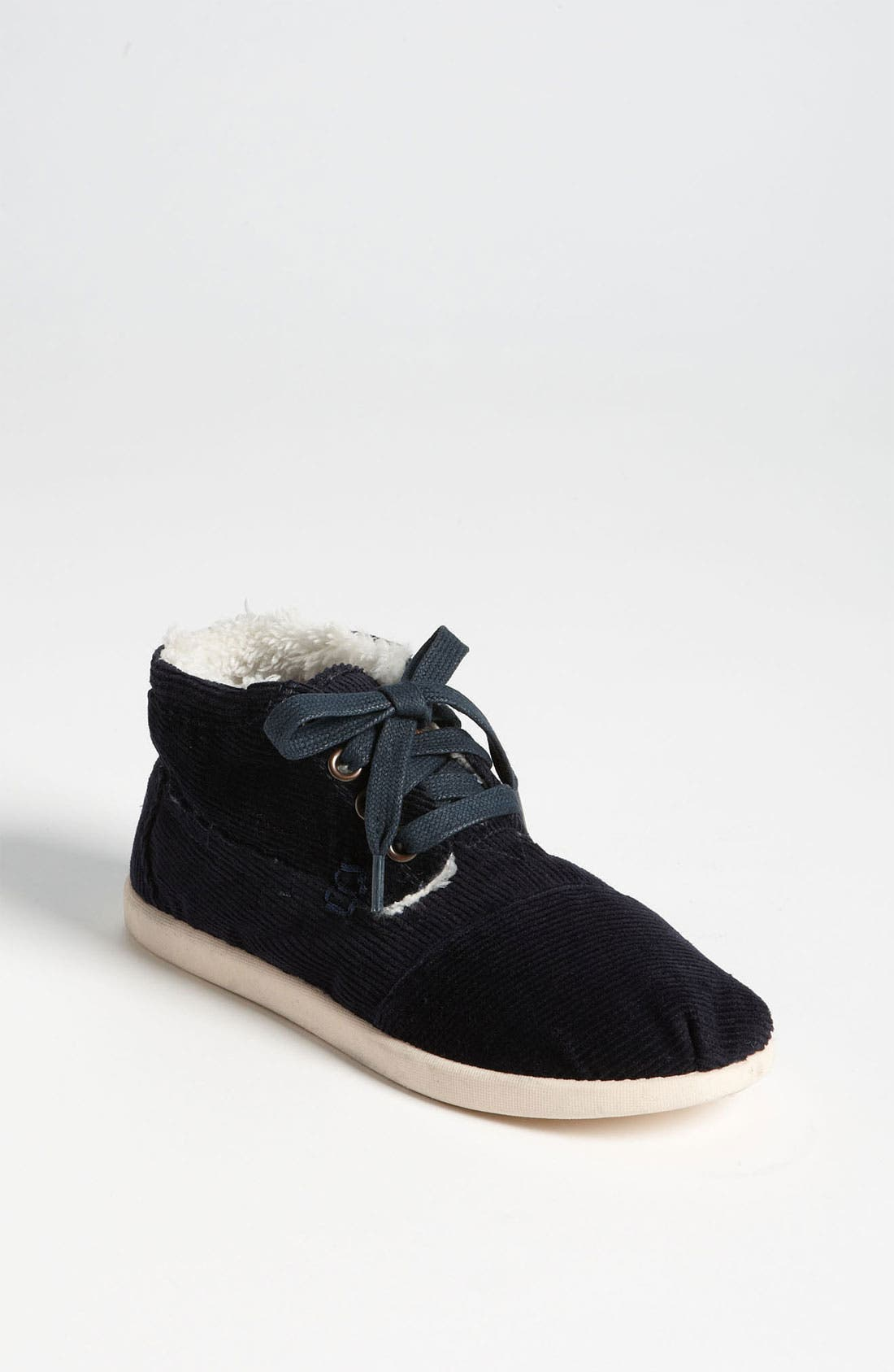 Alternate Image 1 Selected - TOMS 'Botas - Youth' Corduroy Boot (Toddler, Little Kid & Big Kid)