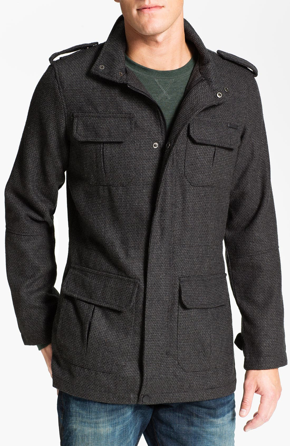 Main Image - Ezekiel 'Predator' Tweed Jacket
