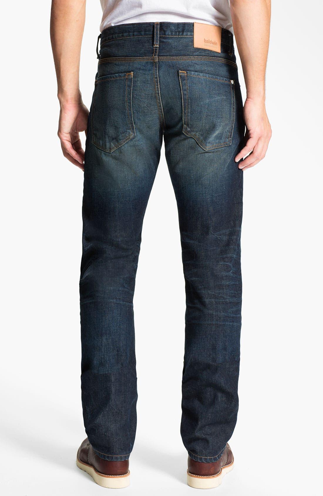 Main Image - Baldwin 'Reed' Straight Leg Jeans (John)
