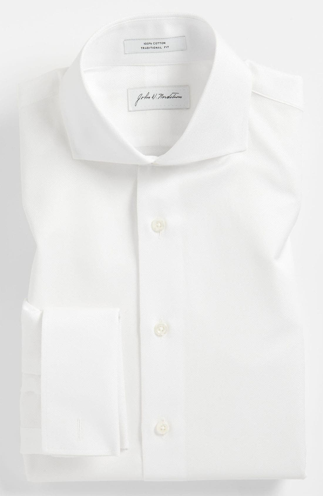 Alternate Image 1 Selected - John W. Nordstrom® Traditional Fit Tuxedo Shirt