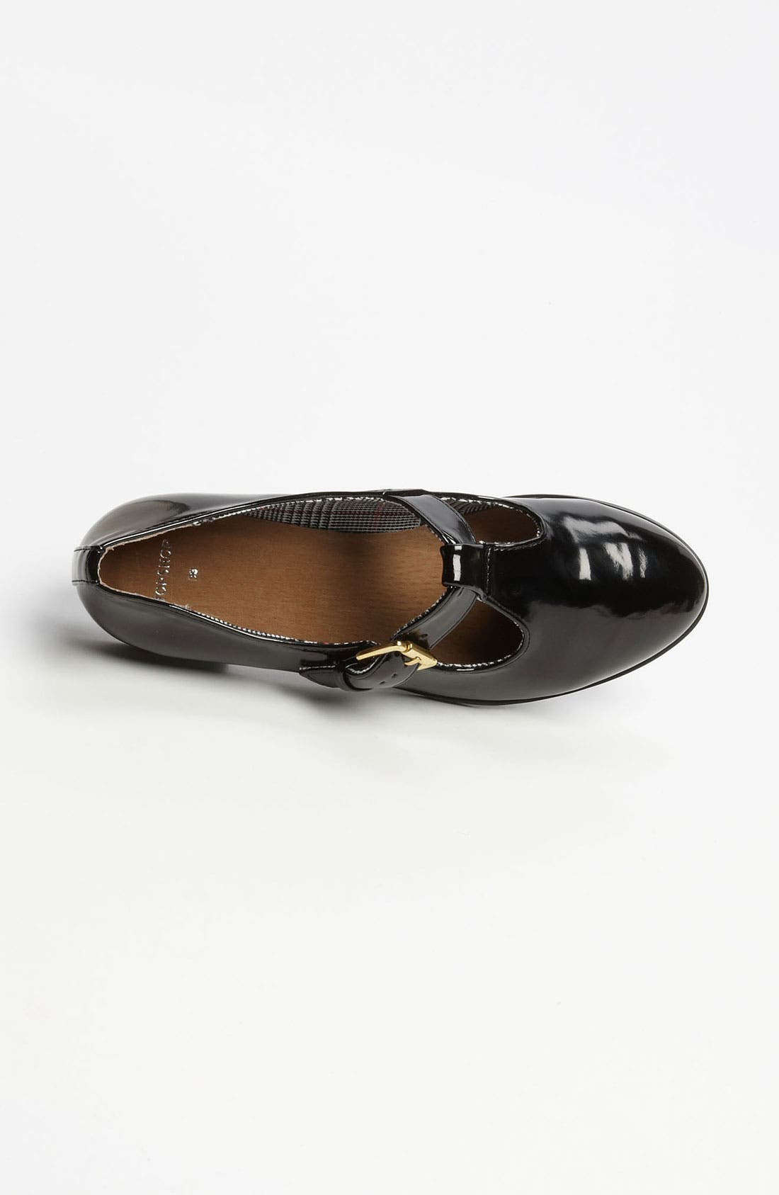 Alternate Image 3  - Topshop 'Maybe' T-Strap Flat