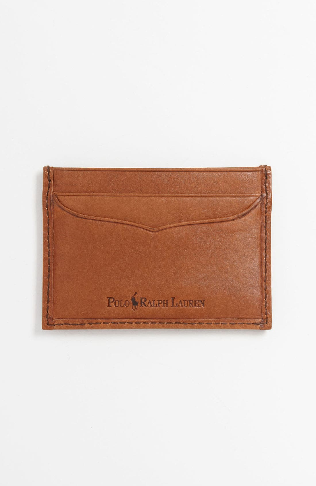 Alternate Image 2  - Polo Ralph Lauren Canvas Card Case