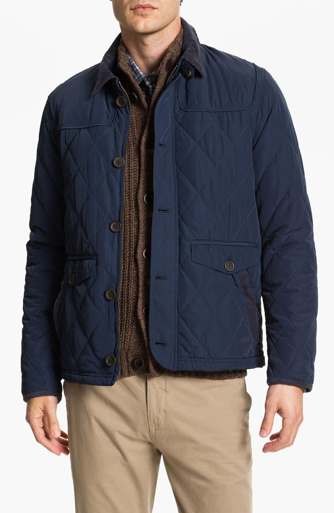Main Image - Ted Baker London 'Narbin' Quilted Jacket