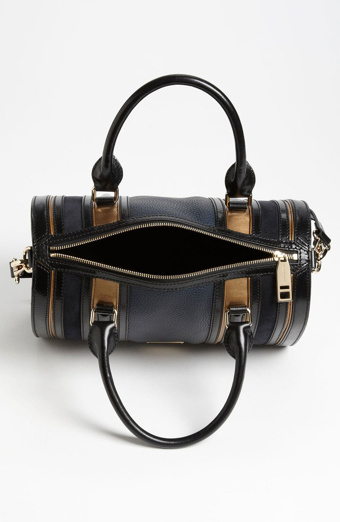 Alternate Image 3  - Burberry Leather & Suede Bowling Bag