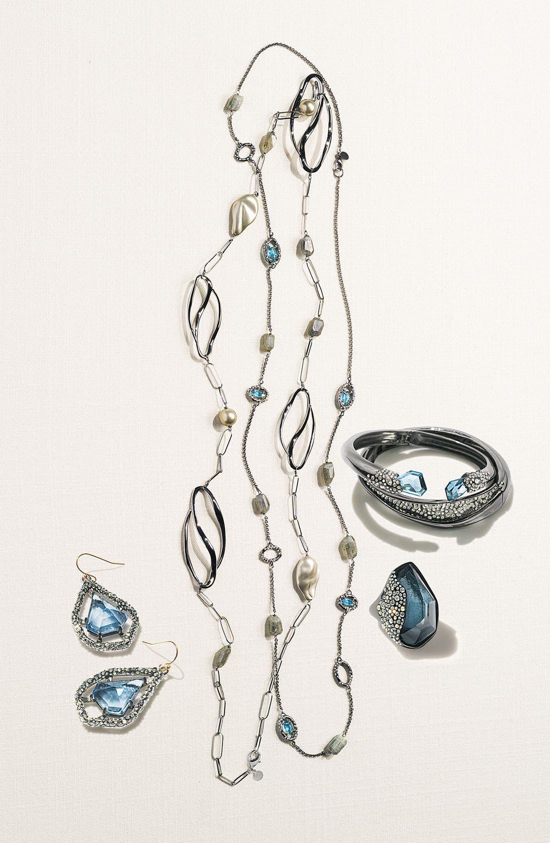 Alternate Image 2  - Alexis Bittar 'Miss Havisham' Crystal Encrusted Hinged Bracelet (Nordstrom Exclusive)